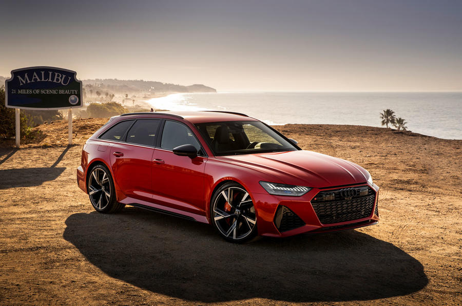 Audi RS6 Avant 2019 first drive review - static front