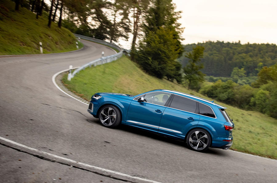 Audi SQ7 2020 : premier bilan de conduite - côté virage