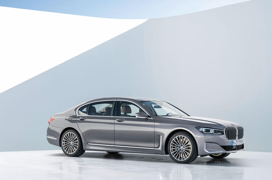 BMW 7 Series 750Li 2019 first drive review - static front