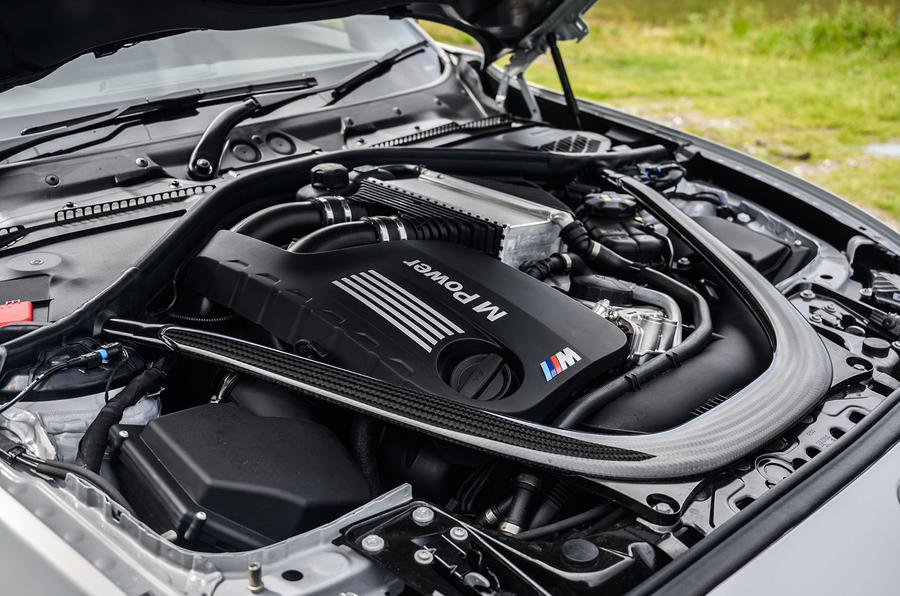 BMW M2 CS 2020 UK first drive review - engine