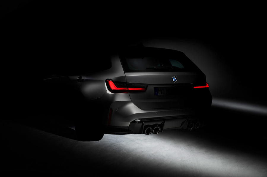 BMW M3 Touring - rear