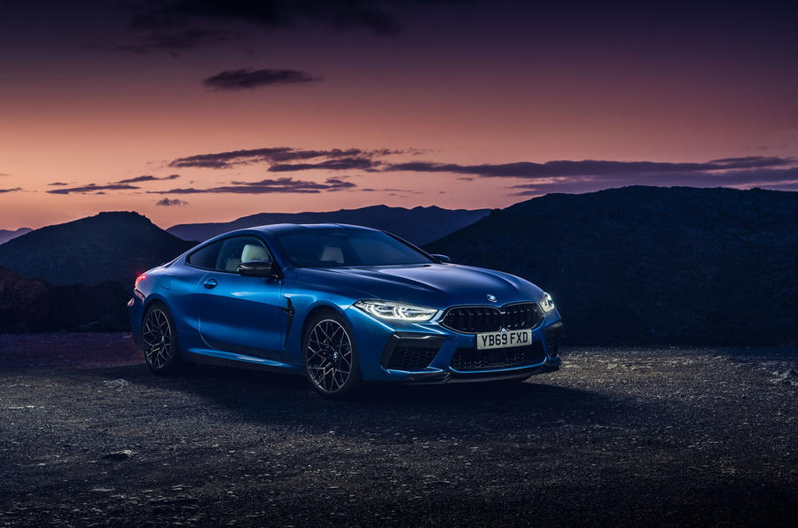 BMW M8 Competition Coupe 2020 UK first drive review - static