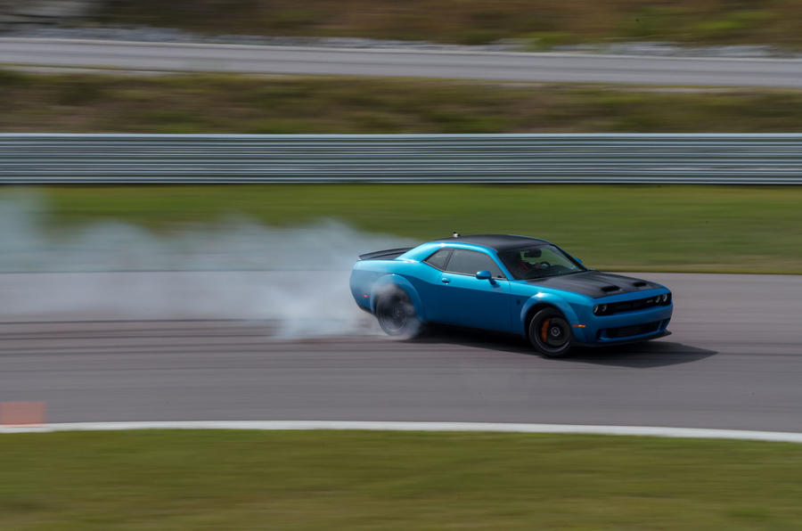 Dodge Challenger Srt Hellcat Redeye Widebody 2018 Review Autocar