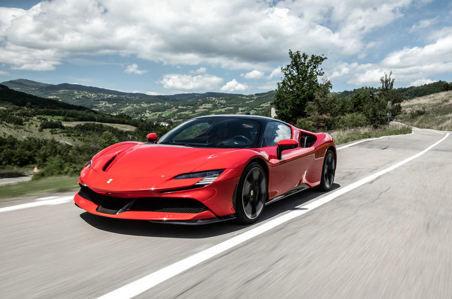 Ferrari SF90 Stradale 2020 first drive review - on the road front