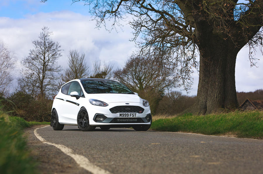 Ford Fiesta ST Mountune m235 2020 first drive review - static front