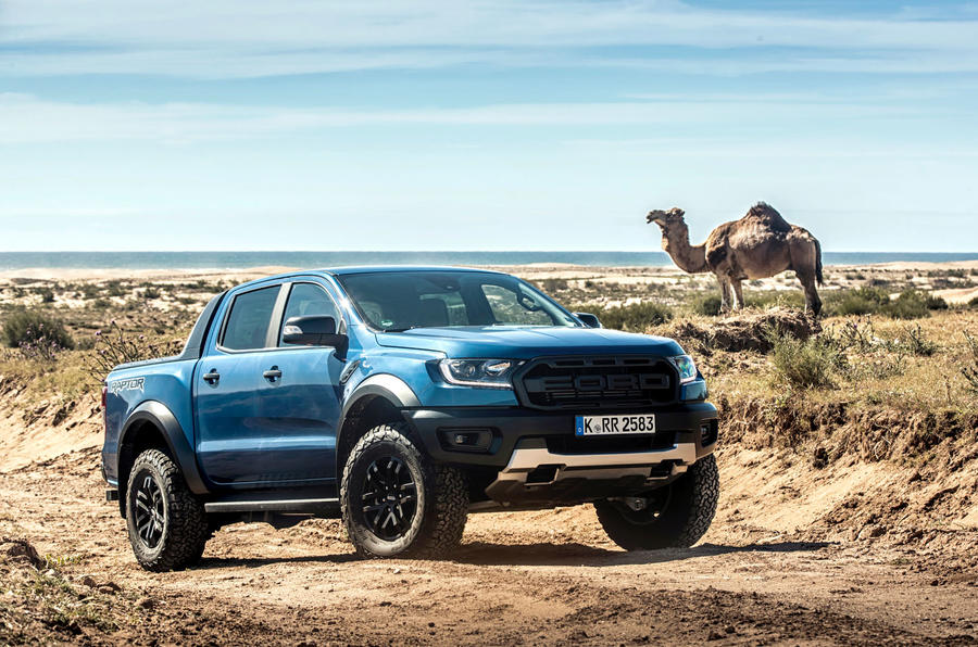 Ford Ranger Raptor 2019 first drive review - static front