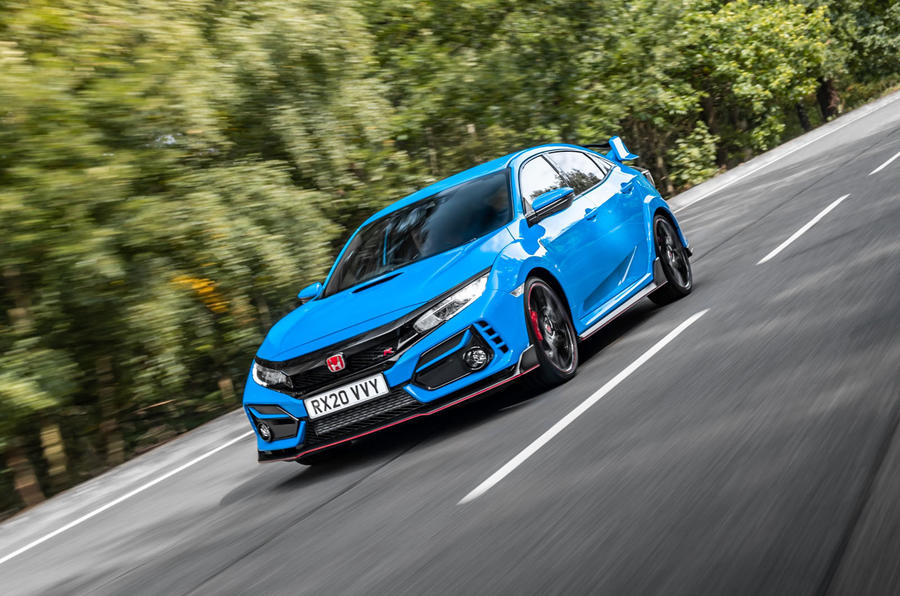 Honda Civic Type R 2020 UK first drive review - on the road front