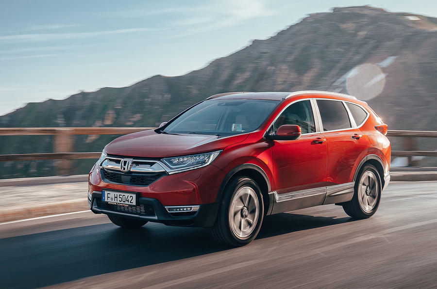 Honda CR-V 2018 first drive review on the road front