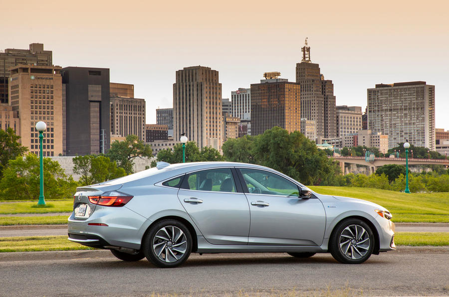 Honda Insight 2019 first drive review - static rear