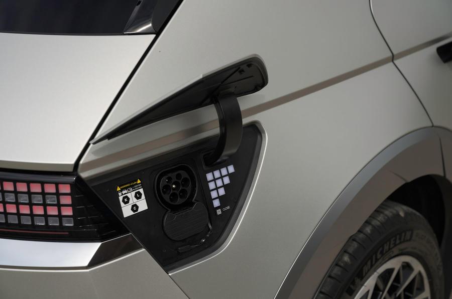 20 Hyundai Ioniq 5 2021 FD plaques de Norvège port de charge