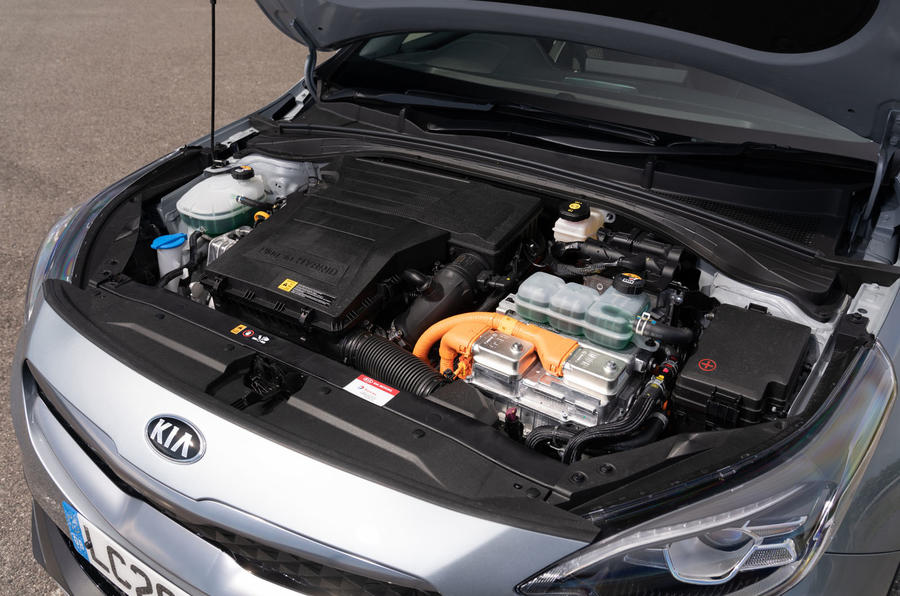 Kia Xceed plug-in hybrid 2020 UK first drive review - engine