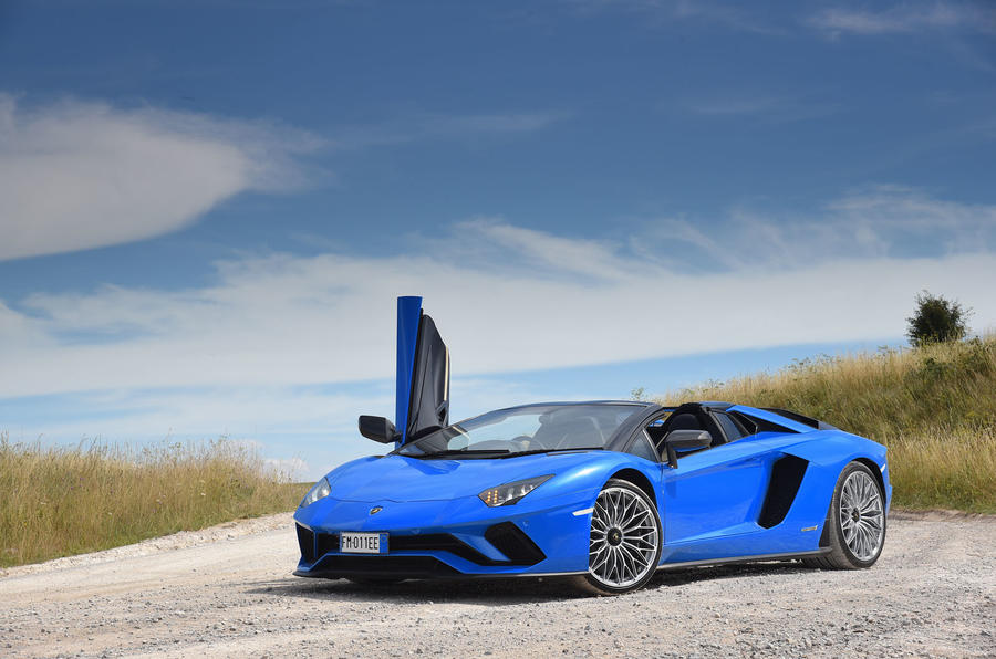 Lamborghini Aventador S 2018 first drive review static front