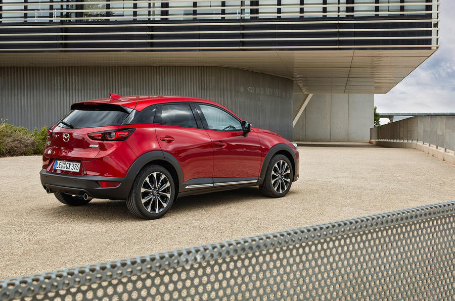 Mazda CX-3 2018 first drive review static rear