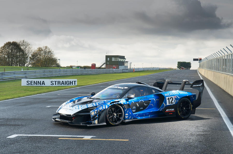 McLaren Senna GTR 2019 first drive review - static