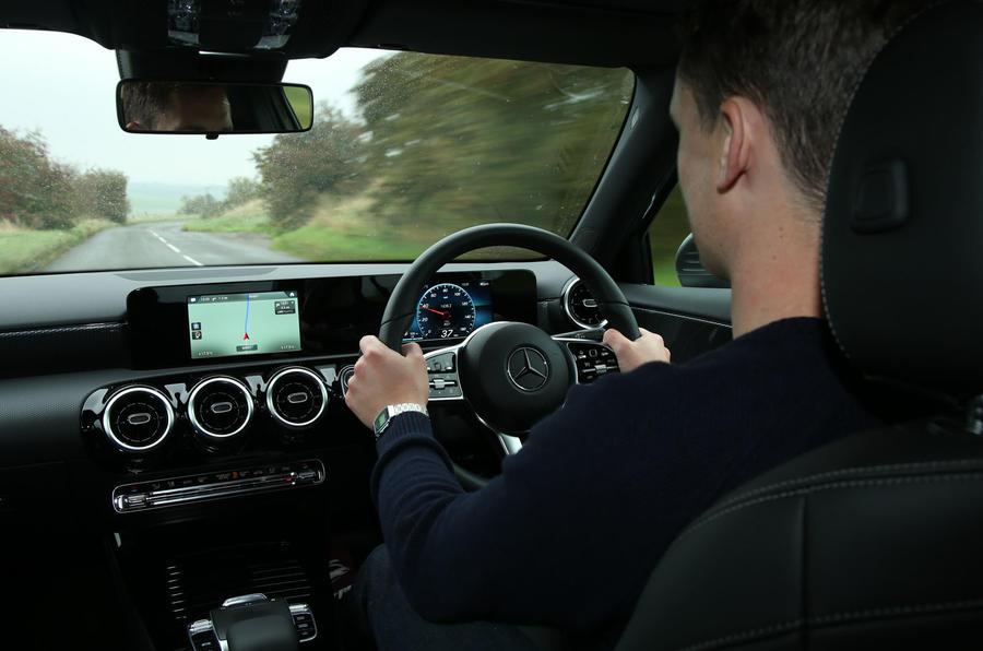 Mercedes-Benz A-Class 2018 long-term review - Mark Tisshaw driving