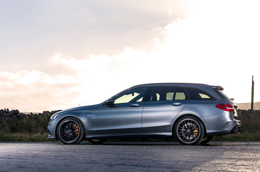 Mercedes-AMG C63 S Estate 2019 first drive review - static side