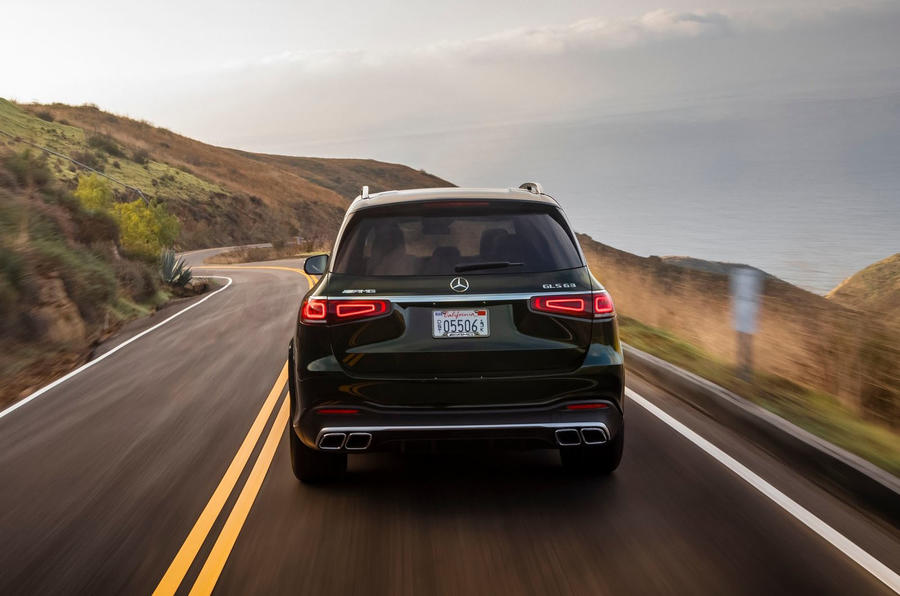 Mercedes-AMG GLS 63 2020 first drive review - on the road back end