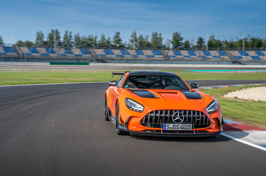 Mercedes-AMG GT Black Series 2020 first drive review - on the road front