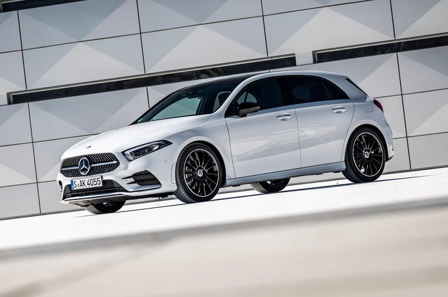 Mercedes-Benz A-Class A180D static front