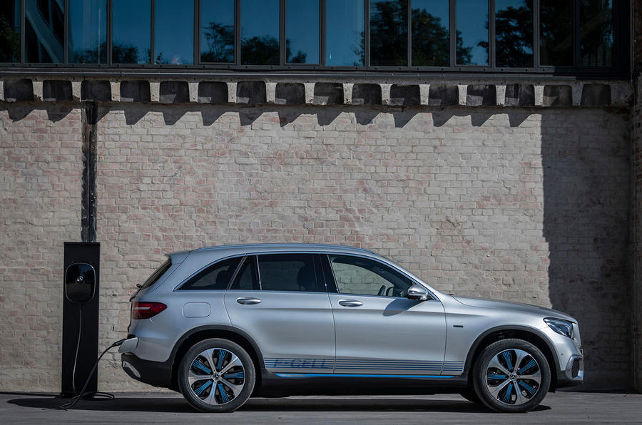 Mercedes-Benz GLC F-Cell 2018 first drive review - static side