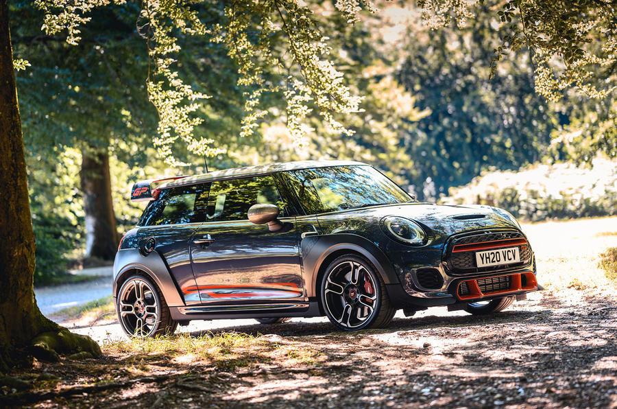 Mini JCW GP 2020 UK first drive review - static