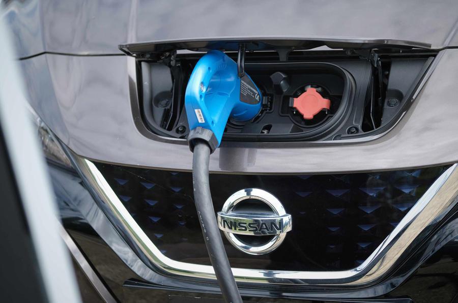 Nissan V2G trial