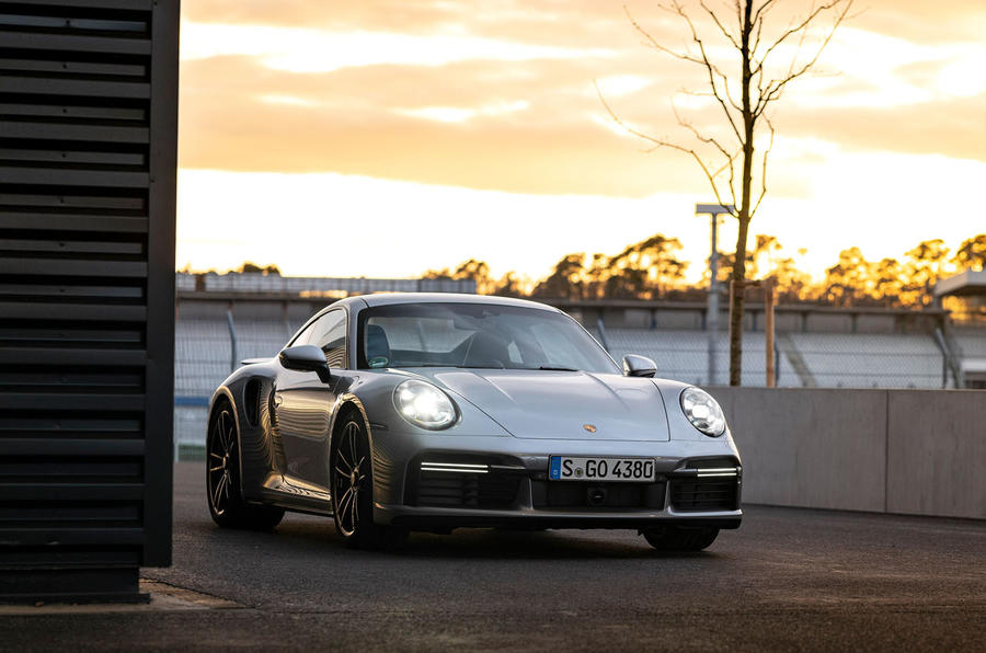 Porsche 911 Turbo S 2020 first drive review - static front