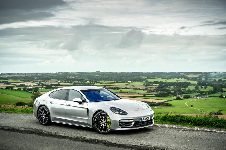 Porsche Panamera e-Hybrid 2020 UK first drive review - static