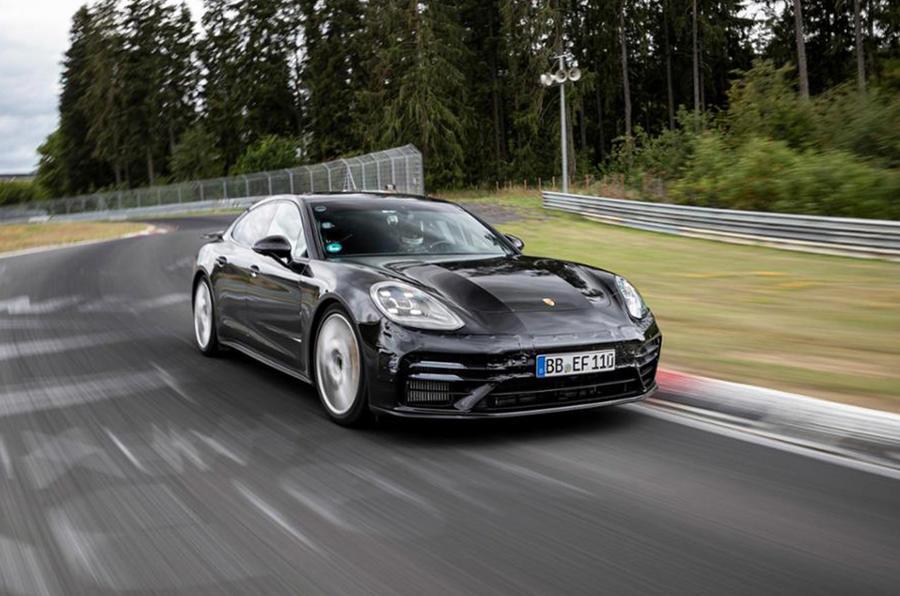 Porsche Panamera Nurburging lap record