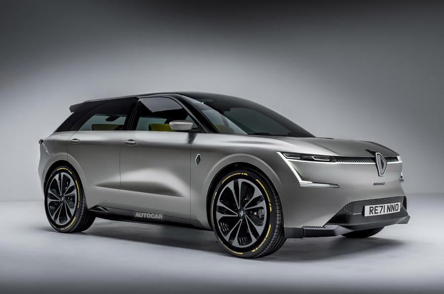 Render de Renault EV