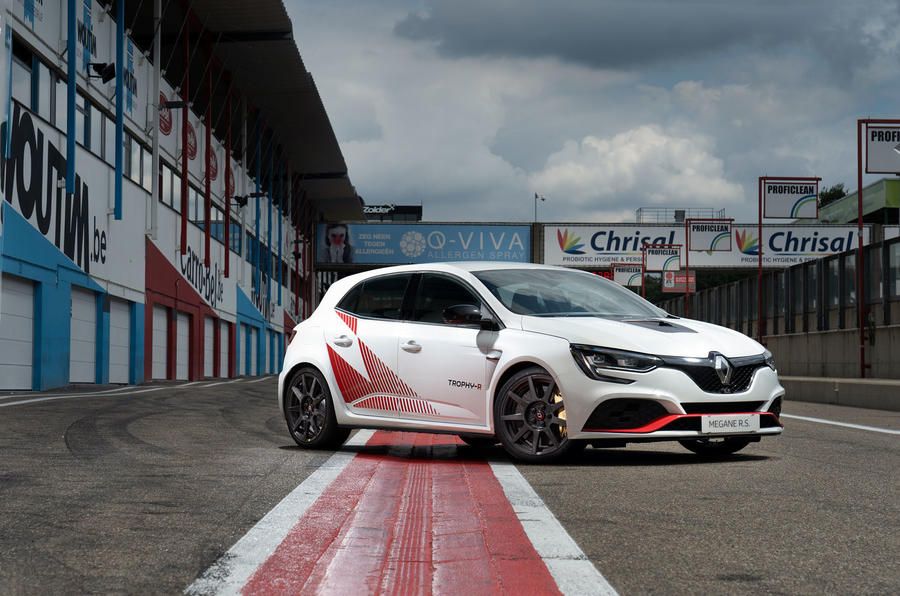Renault Megane Trophy R 2019 first drive review - static front