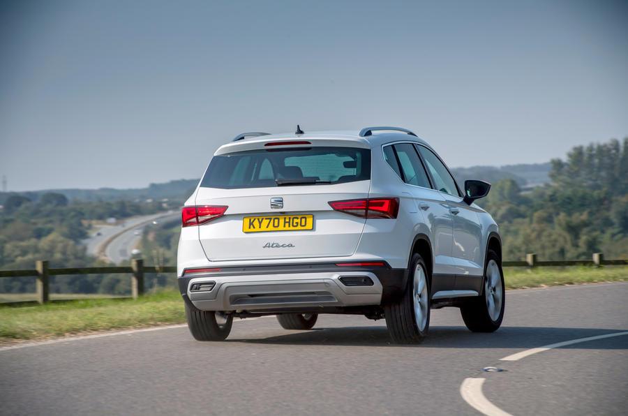 Siège Ateca Xperience 2020 : premier bilan de conduite au Royaume-Uni - sur la route arrière