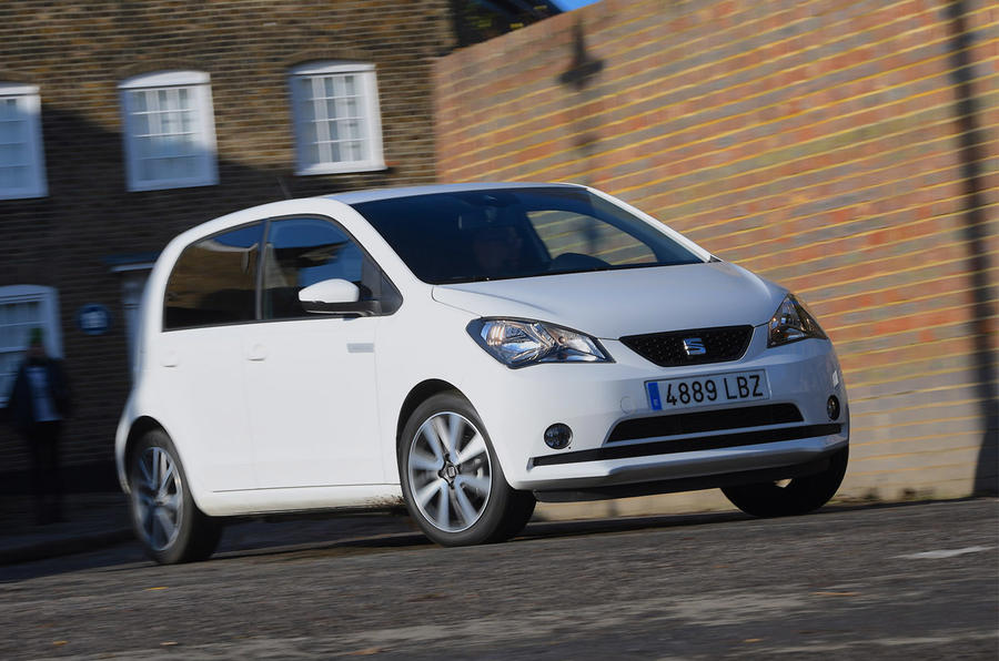 Seat Mii Electric - hero front