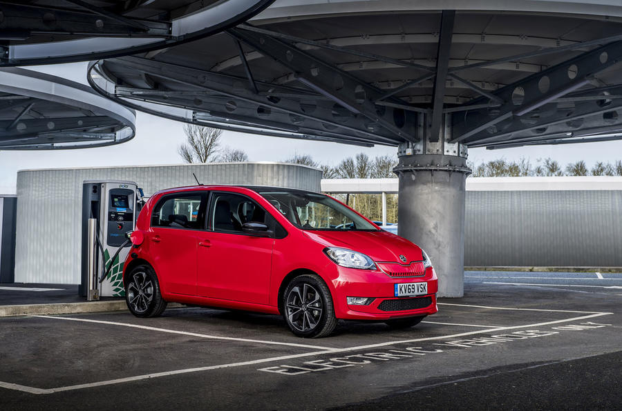 Skoda Citigo-e iV 2020 UK first drive review - static