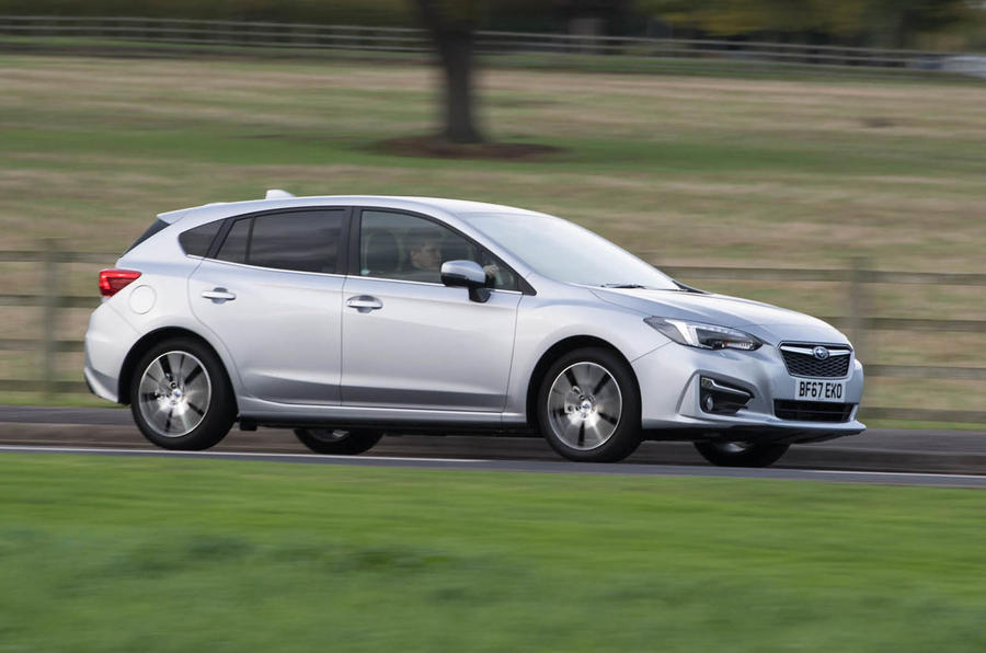 Subaru Impreza 2018 UK review on the road