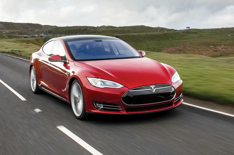 Tesla Model S - hero front