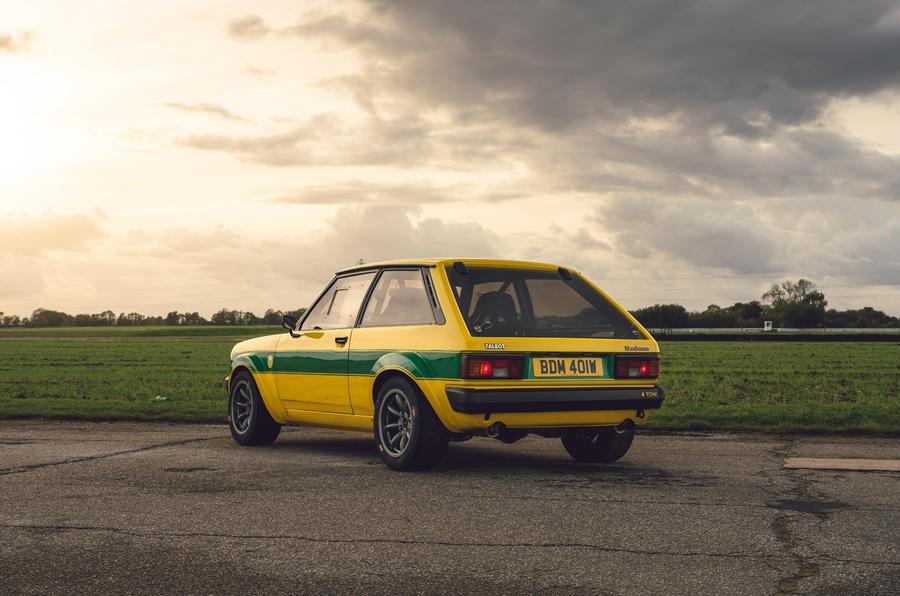 20 Tolman Talbot Sunbeam Lotus 2021 : premier examen du disque dur statique
