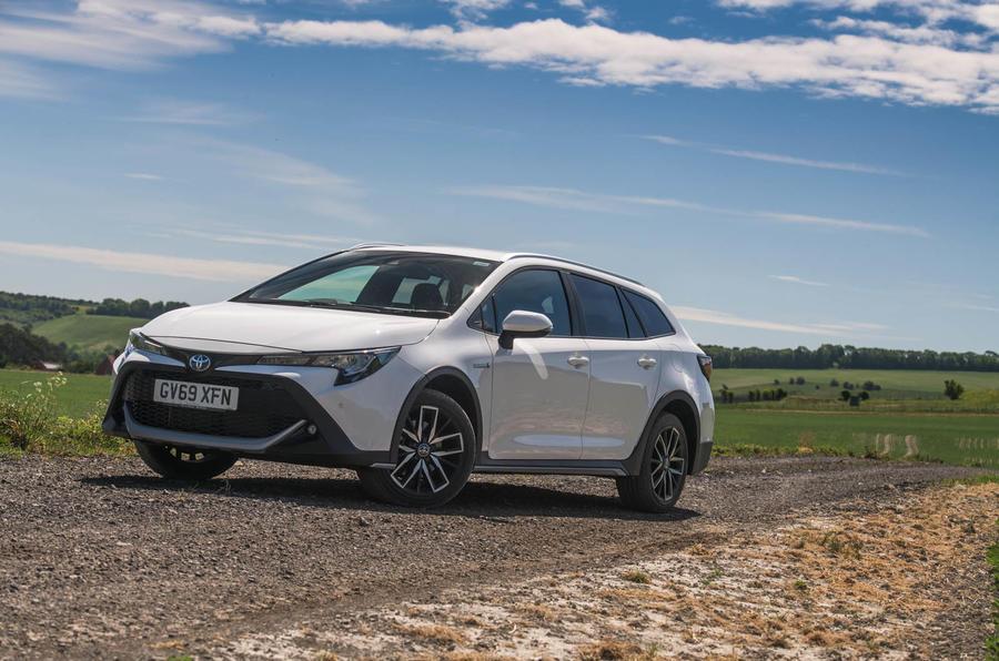 Toyota Corolla Trek 2020 UK first drive review - static