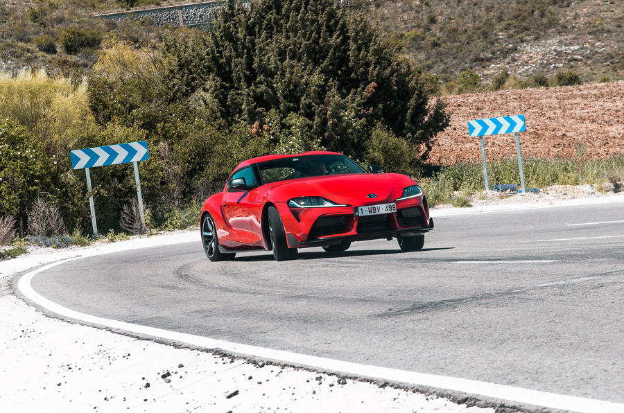 Toyota GR Supra 2019 first drive review - drift