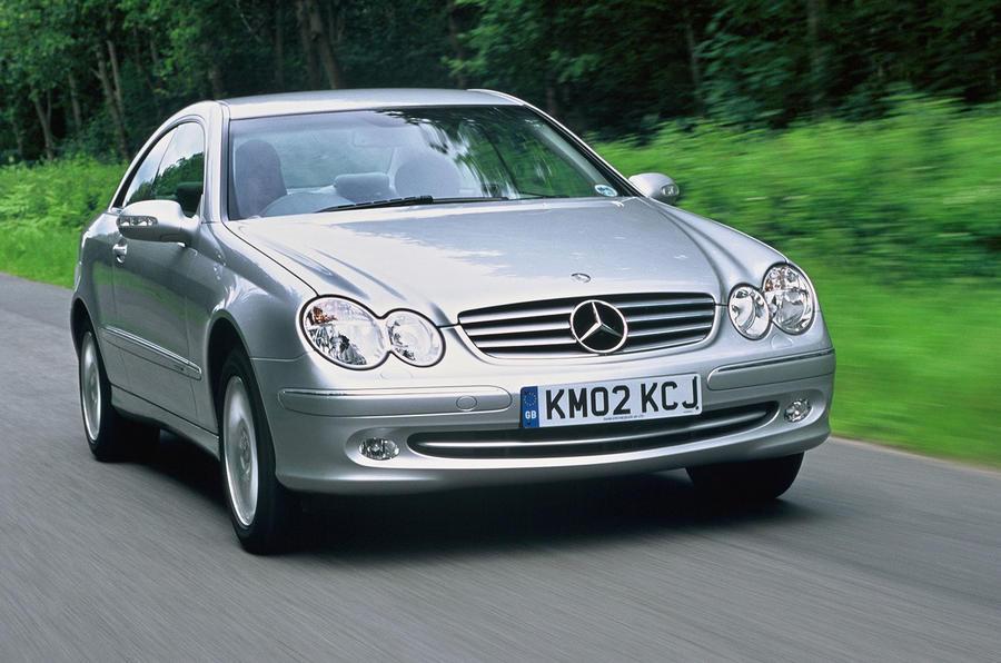 2002 Mercedes-Benz CLK500