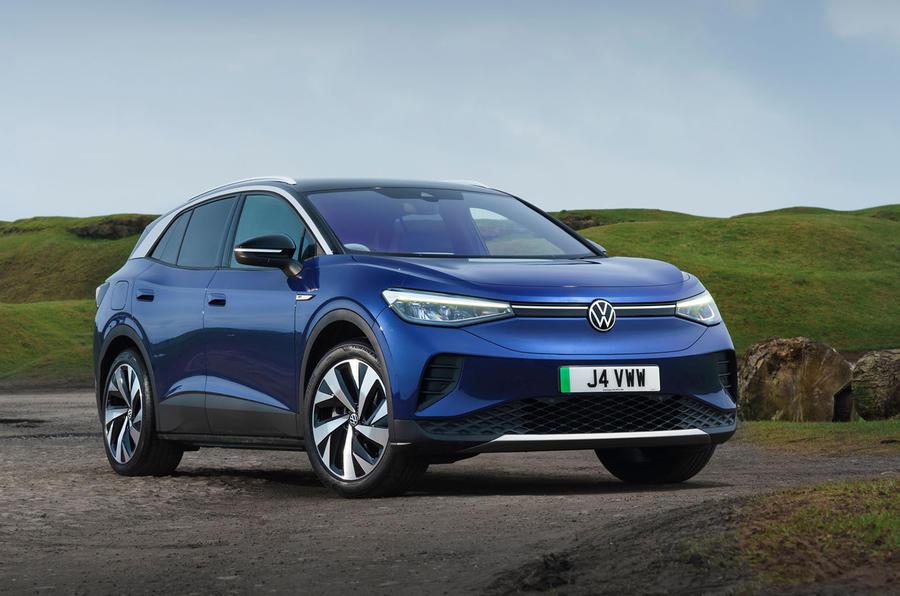 20 Volkswagen ID 4 2021 : essai routier au Royaume-Uni - statique