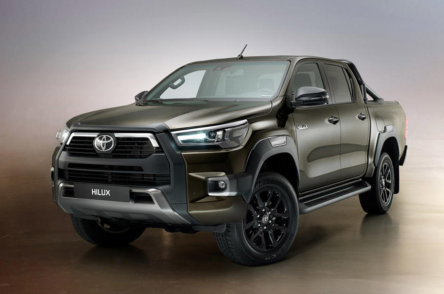 Toyota Hilux 2020 - static front