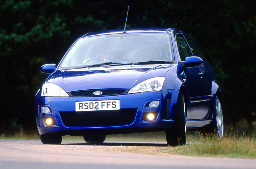 Ford Focus RS 2002 - tracking front