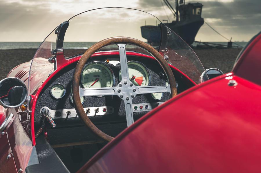 John Nash kit car 2020 - interior