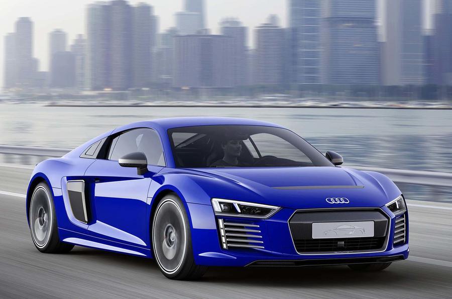 Audi R8 E-tron render
