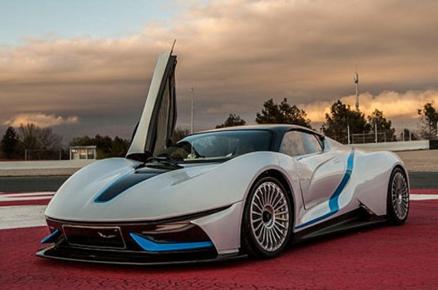 BIAC electric supercar