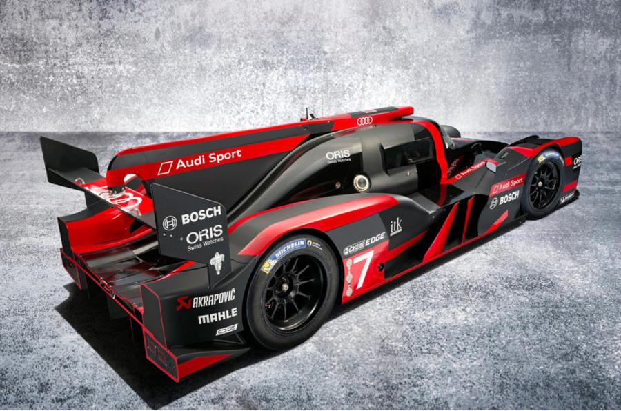 2016 Audi R18 e-tron quattro rear