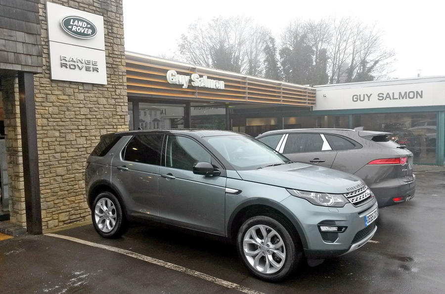 Land Rover Discovery Sport long-term test review: visiting the dealer