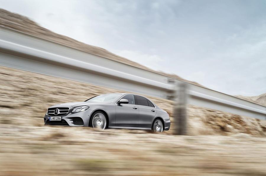 2016 Mercedes-Benz E-class leak