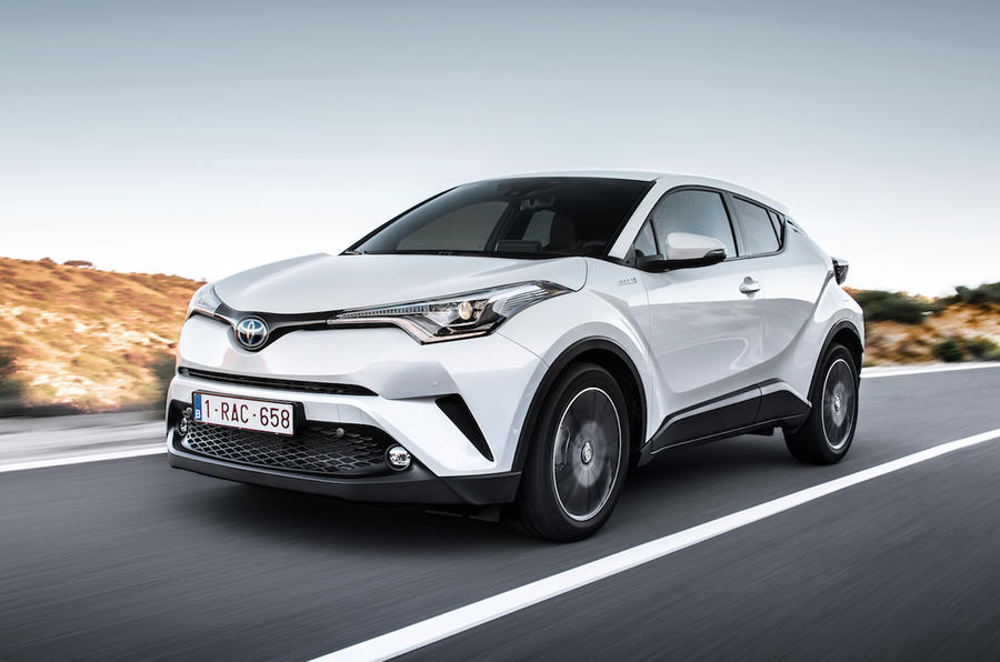 2017 toyota c-hr 1.8 hybrid review | autocar
